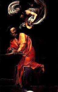 383px-Caravaggio_-_San_Matteo_e_l'angelo